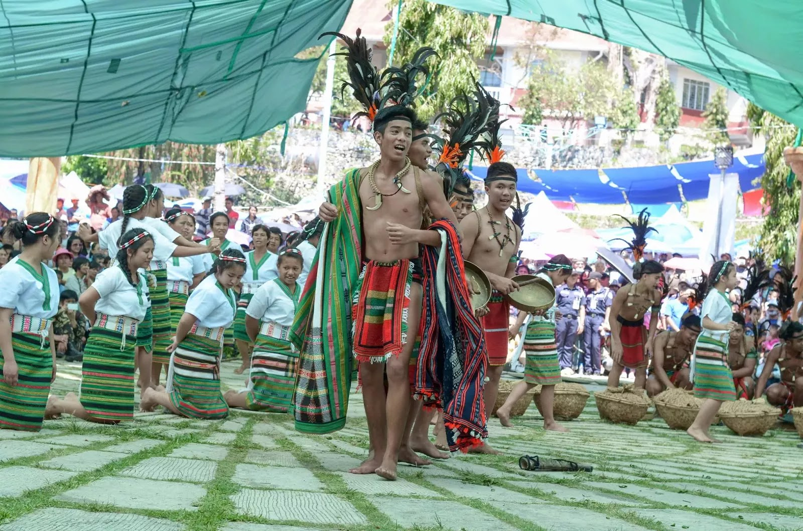 The Ethno-Indigenous Cluster Song 13th Lang-Ay Festival Bontoc Mountain Province Cordillera Administrative Region Philippines