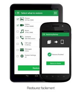 Sauvegarder et restaurer vos données sur votre smartphone