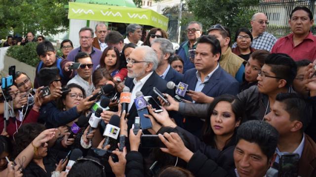 Mesa lanzó una respuesta a Morales afirmando que el tiempo del mandatario ya se acabó / SOL.BO