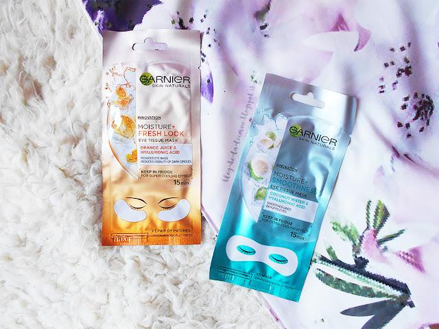 Garnier Skin Naturals Moisture+ očné masky