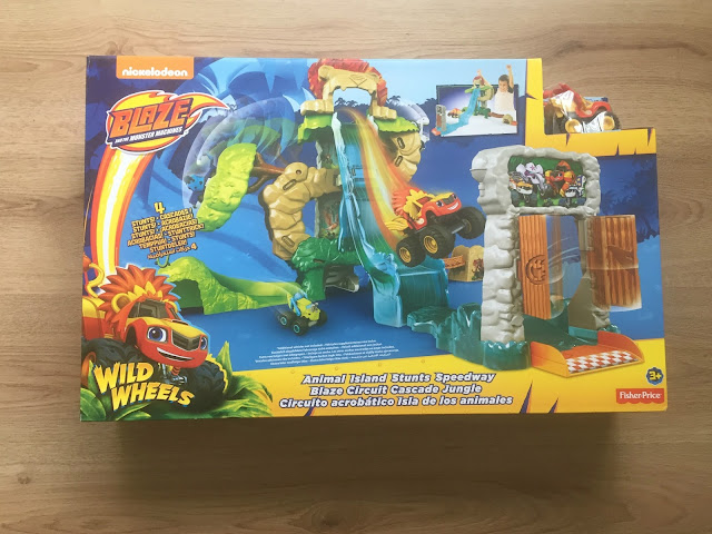 Blaze playset in box