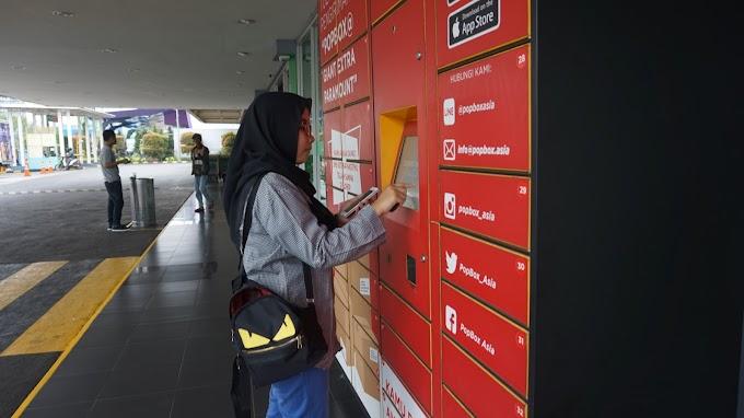 Titip Barang Aman, Mudah dan Kekinian di Loker Ajaib dengan Aplikasi PopBox