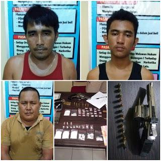 Pengedar dan BD Narkoba Ditangkap Polisi