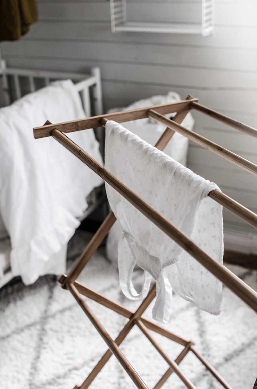 Tvättställning i bambu, ellos