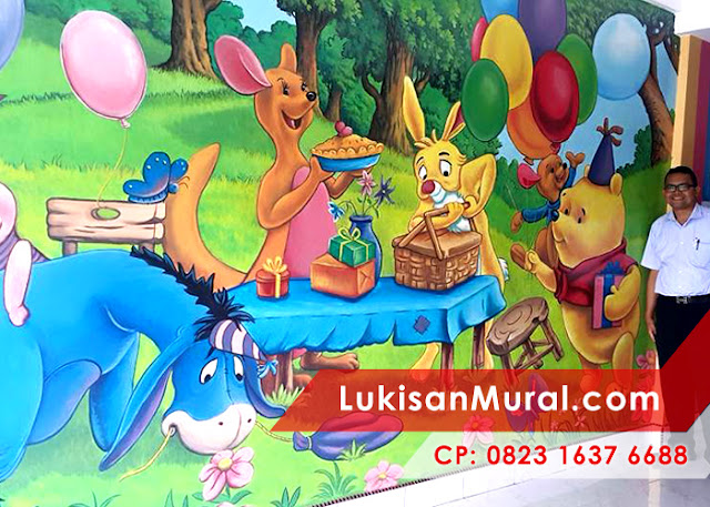 Lukisan Dinding Kamar Anak