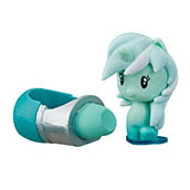 MLP Blind Bags, Confetti  Lyra Heartstrings Pony Cutie Mark Crew Figure