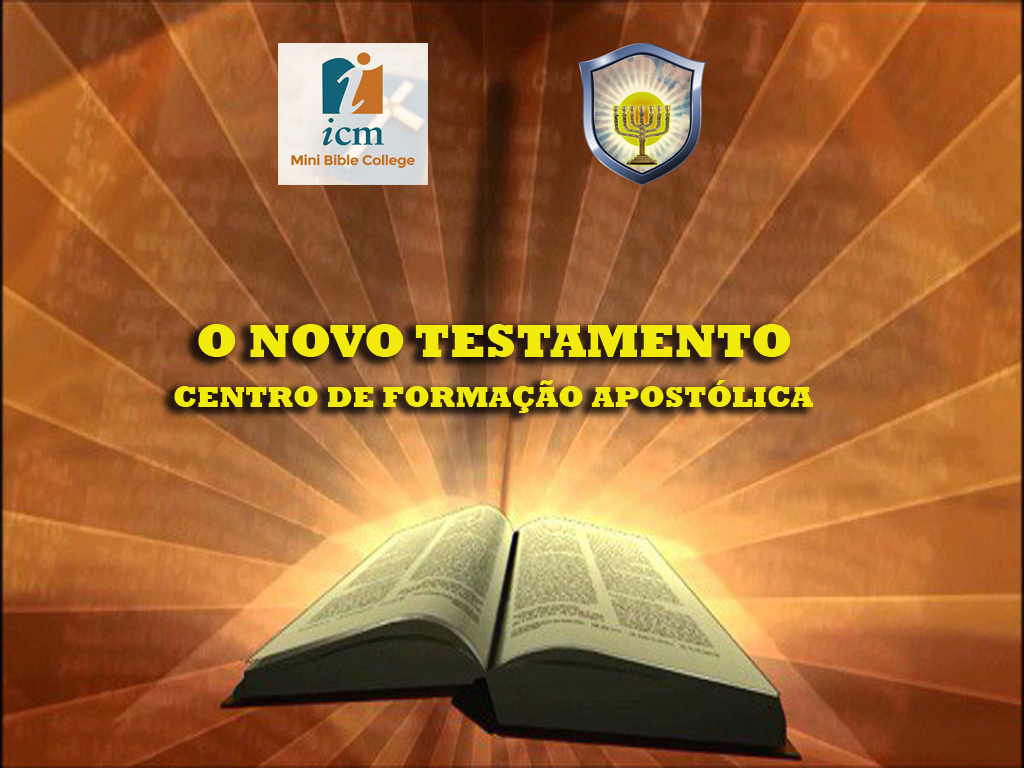 ESTUDO DO NOVO TESTAMENTO