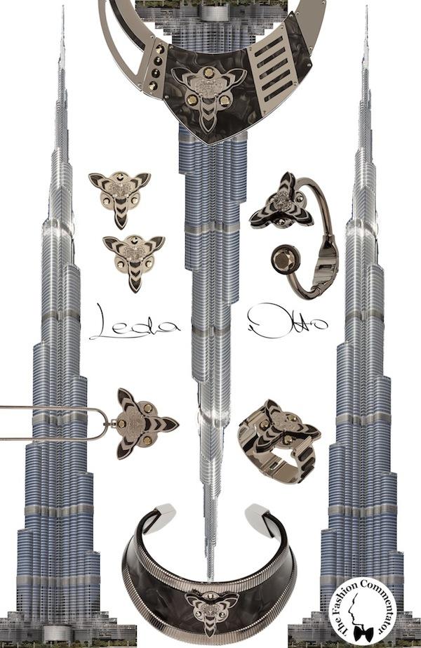 LedaOtto jewels FW 2013 - Burj Khalifa