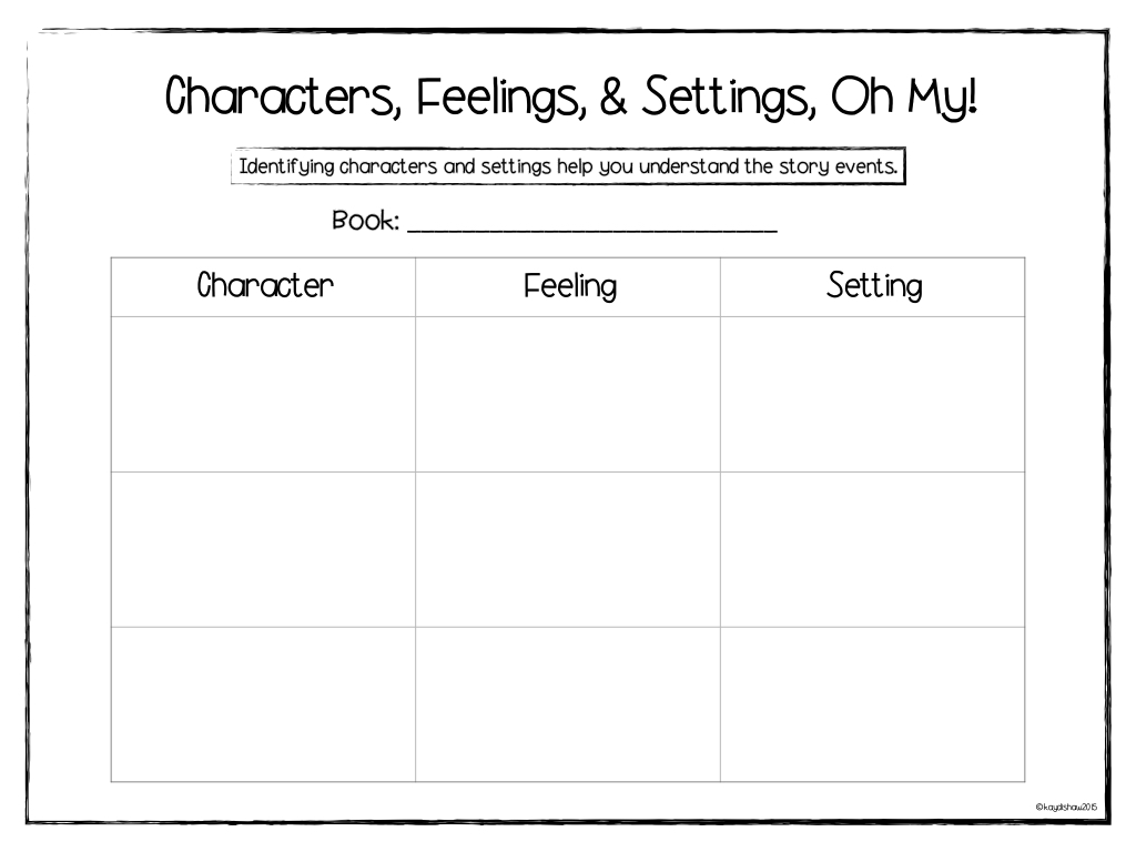 Learning Adventures Characters Have Feelings And A Freebie