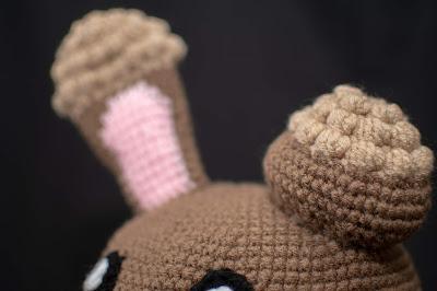 Pokemon Buneary Hat - Free Crochet Pattern