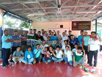 Suasana Pendidikan dan Latihan Bantuan Hukum kedua di saung buruh