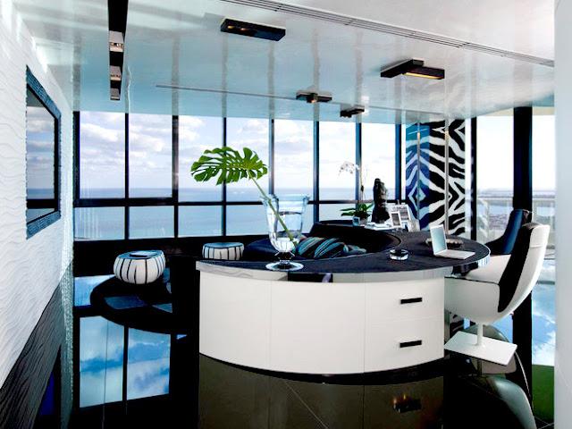 Desain Ruang Kerja Modern Dan Mewah