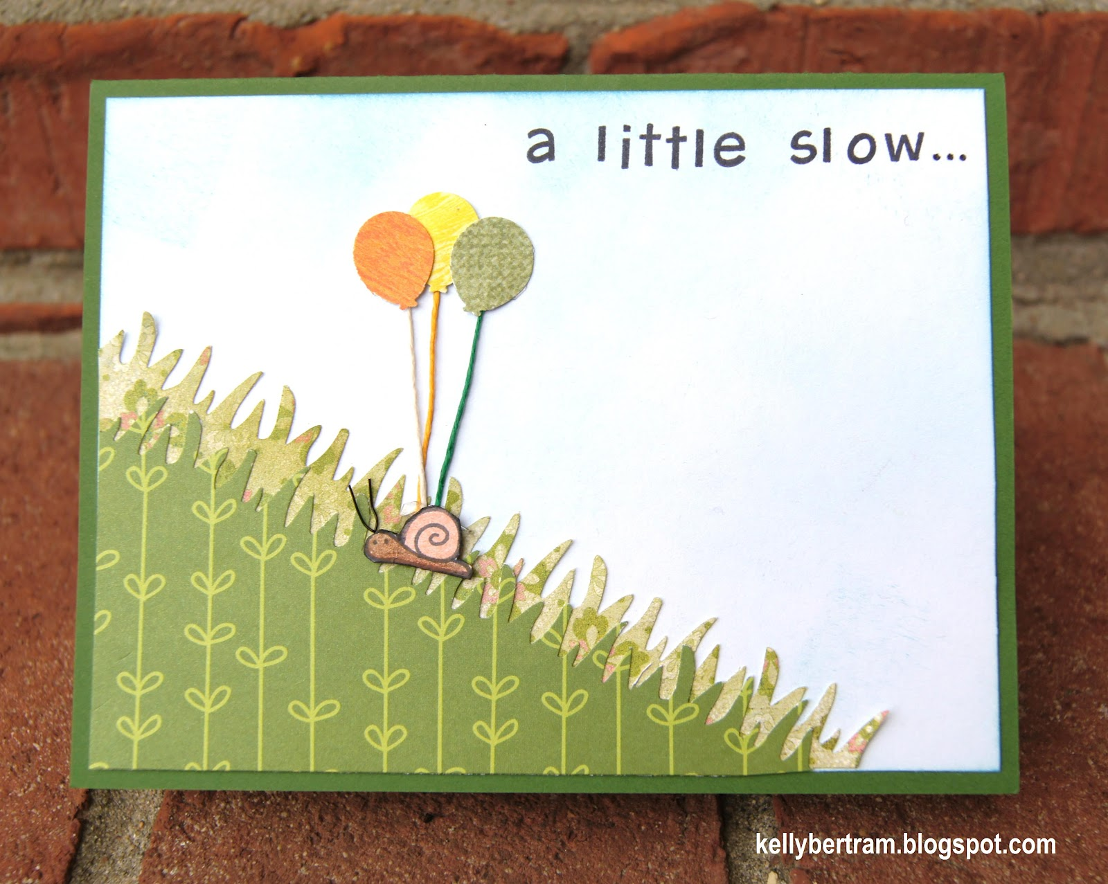 Kelly's Place: Belated Birthday Card