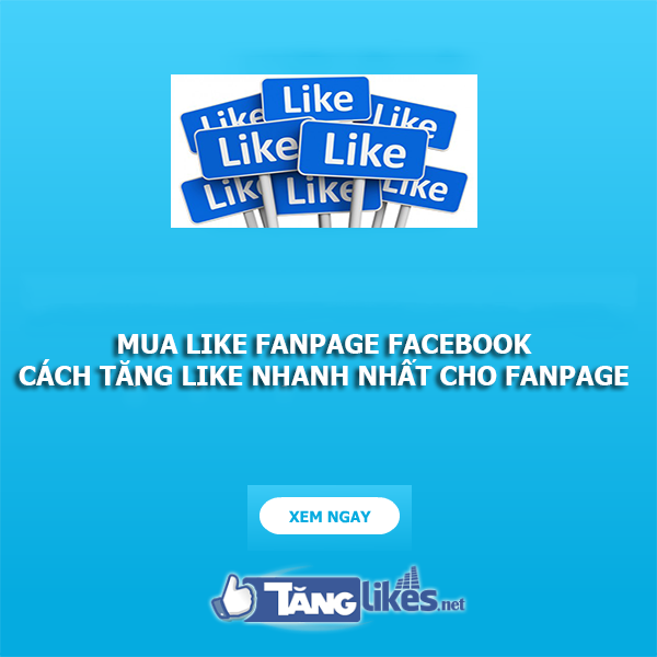 mua like fanpage facebook