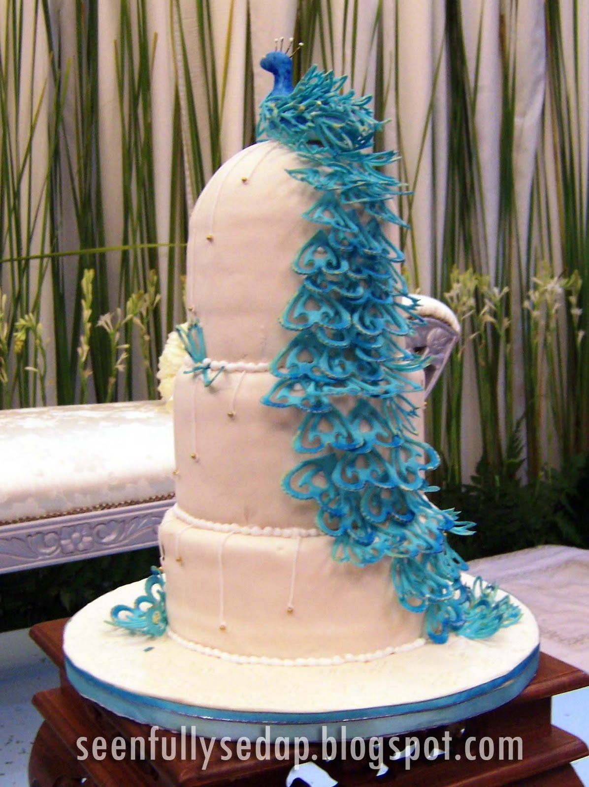 Seenfully Sedap: Wedding Cake