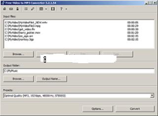 تحميل برنامج تحويل الفيديو الى mp3 للكمبيوتر free video to mp3 converter free download
