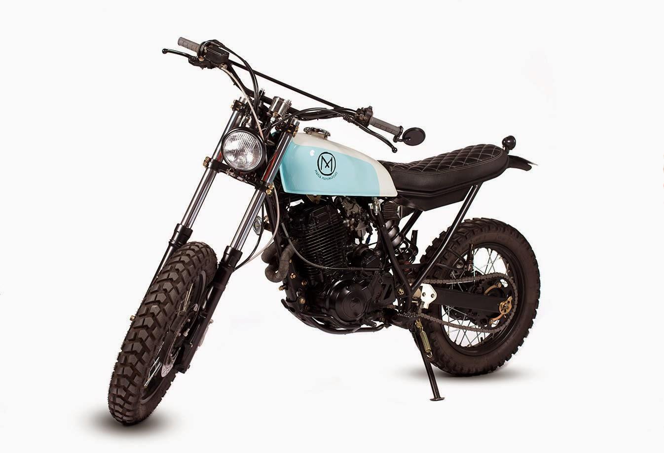 Racing Caf U00e8  Yamaha Xt 600  U0026quot Dirty Geisha U0026quot  By Maria Motorcycles