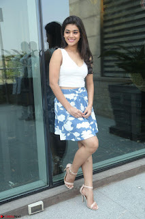Yamini in Short Mini Skirt and Crop Sleeveless White Top 038.JPG