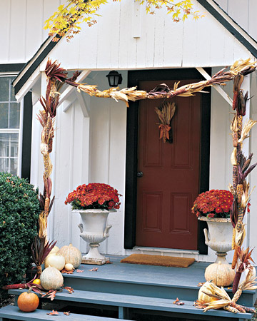 Beautiful Fall Decor Ideas for Indoors and Out! | www.settingforfour.com