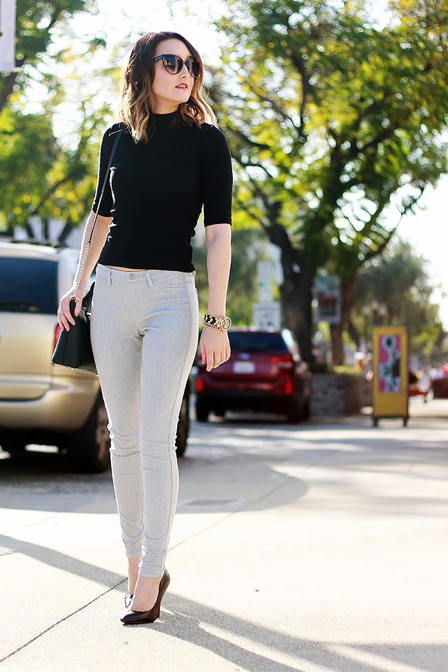 Office Style: Uniqlo Legging Pants