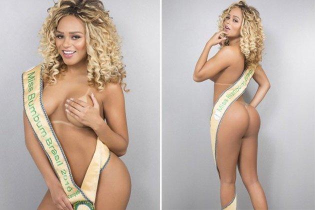 Erika Canela - Miss Bumbum 2016