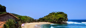 Gambar Keindahan Pantai Indrayanti Yogyakarta