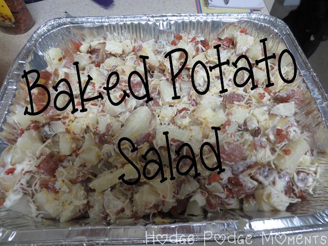 Throwback Thursday: Baked Potato Salad