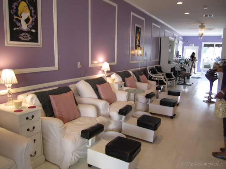 Nail Salon Interior Wall Colors Idea Pictures