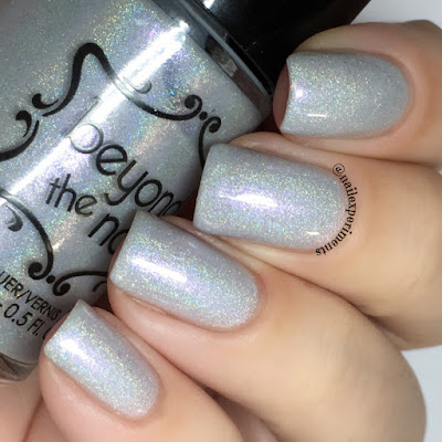 Beyond The Nail Frostbite swatch from winter sub-zero collection
