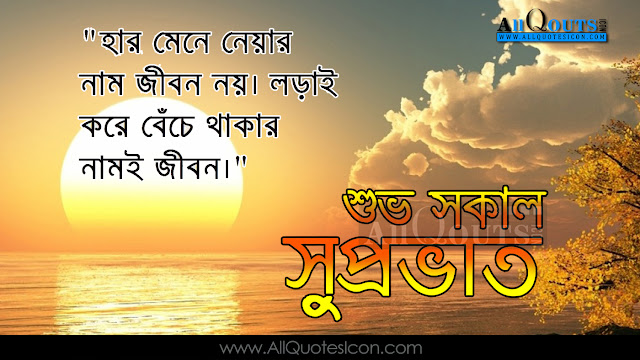 Good Morning Quotes Bengali : Bengali good morning wishes in quotations hd