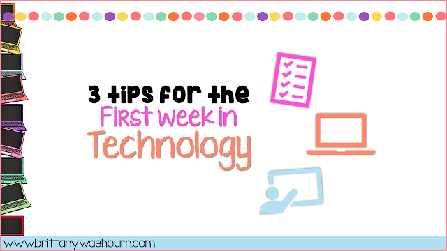 3 Tips for the First Week in Technology