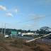 Carro colidiu com poste na BR-406 em São Gonçalo do Amarante