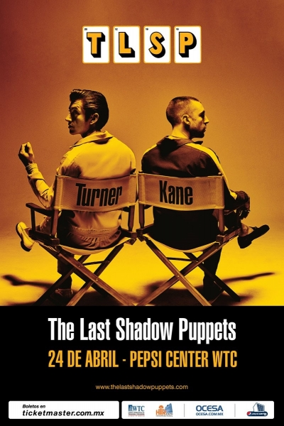 ¡The Last Shadow Puppets en México!