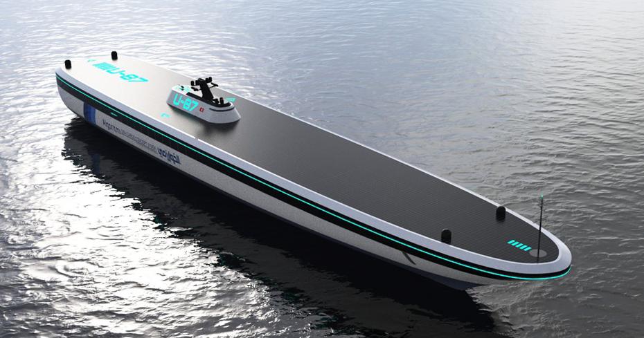 Algoritmi USV, concept di nave da carico senza equipaggio