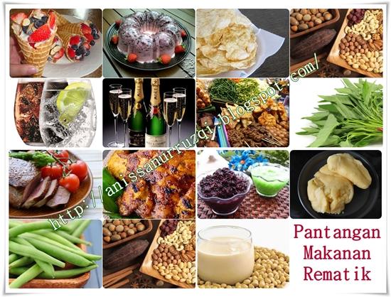 Pantangan Makanan Untuk Penderita Rematik Terlengkap