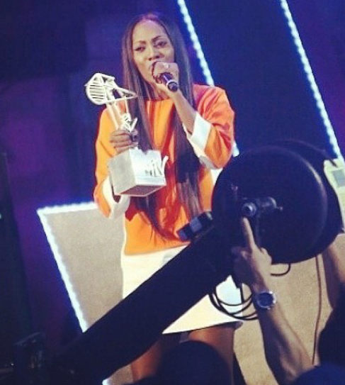 "WINNERS: ""MAMA""!!! MTV Africa Music Awards 2014, Tiwa Savage"