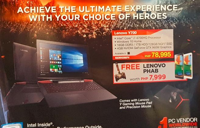 Lenovo Y700 Philippines