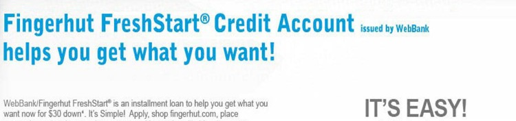 fingerhut com pre approved credit