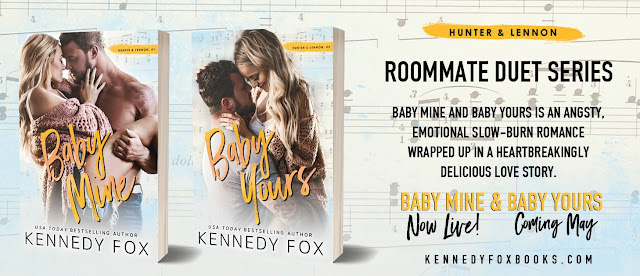 Blog Tour & Review: Baby Mine by Kennedy Fox