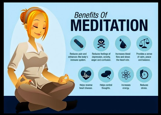 Benefits of meditation (ૐ)