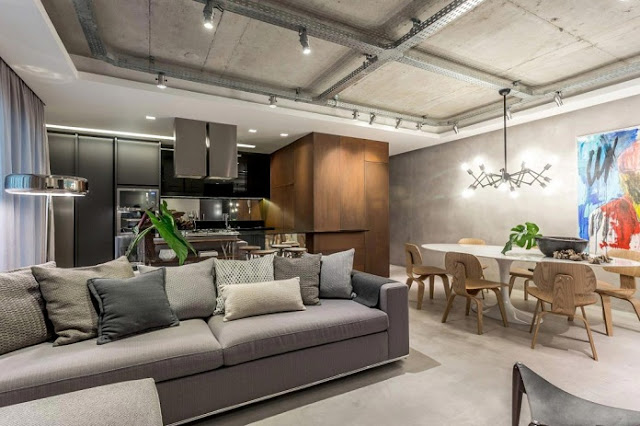 Thiết kế căn hộ 83m2 hiện đại, tinh tế - H2