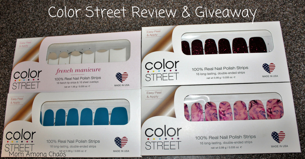 Mom Among Chaos: Color Street Review & Giveaway