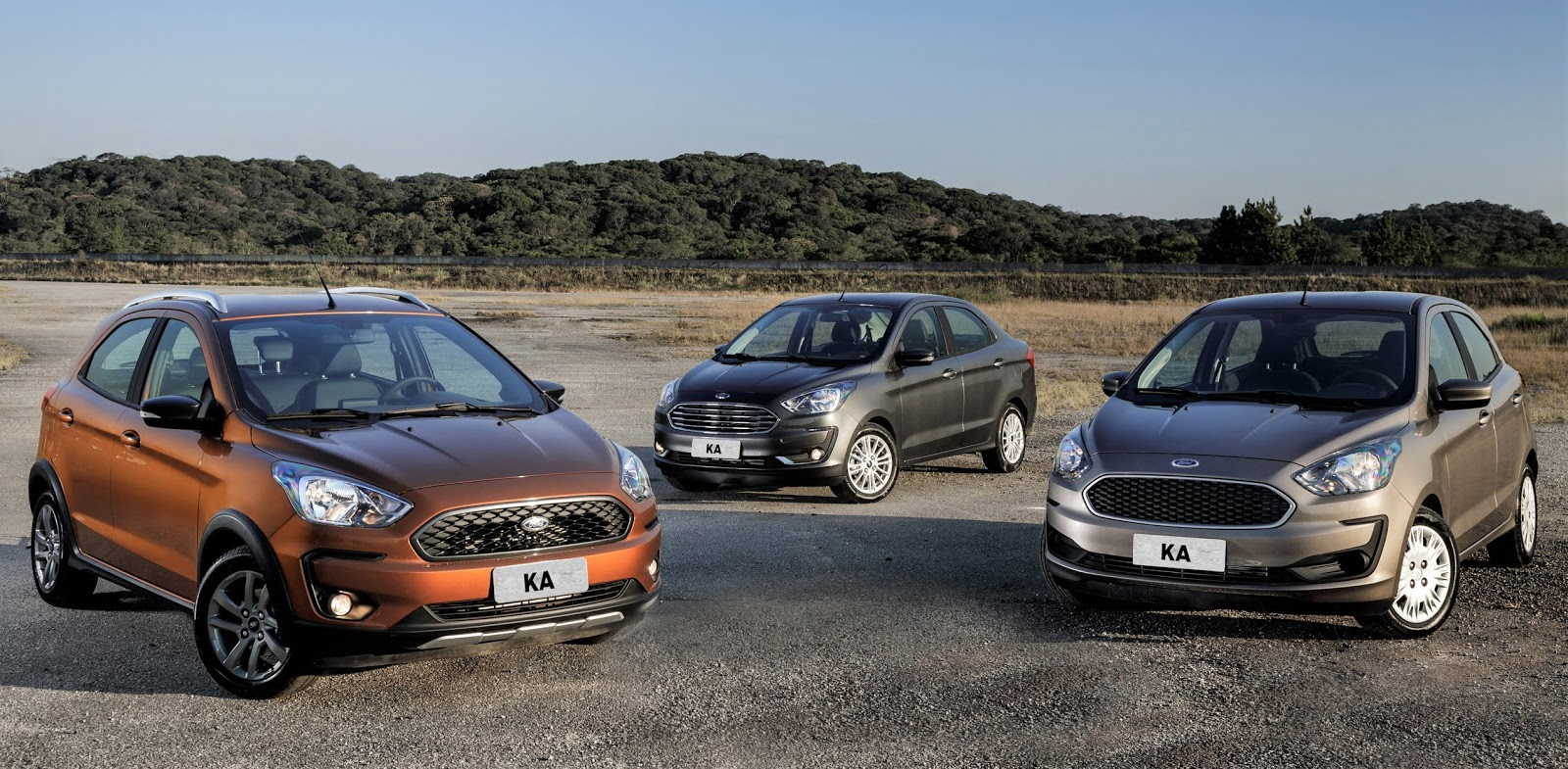 Ford Apresenta Ka Hatch E Sedan 2019 Com Face Lift Mais Itens E