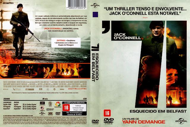Capa DVD '71 ESQUECIDO EM BELFAST