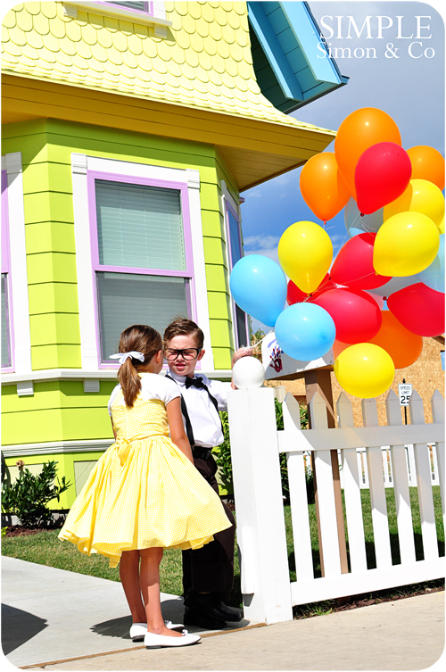 Up House That Is Awesome And Amazing We Wanted To Make Some Costumes Go With It So Here Our Carl Ellie Fredricksen