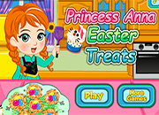 Anna Frozen Easter Treats
