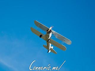 N3256A 1943 BOEING A75N1%2528PT17%2529 Flyby 3