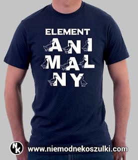 Koszulka element animalny