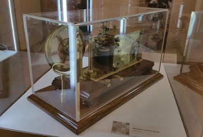 Exfiastur 2018, material del Museo Postal y Telegráfico. Receptor acústico morse