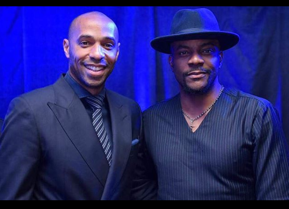 Thierry Henry Pictured With Banky W, 2face And Other Nigerian Celebrities